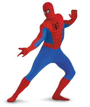 Spider-man Bodysuit Adult Costume