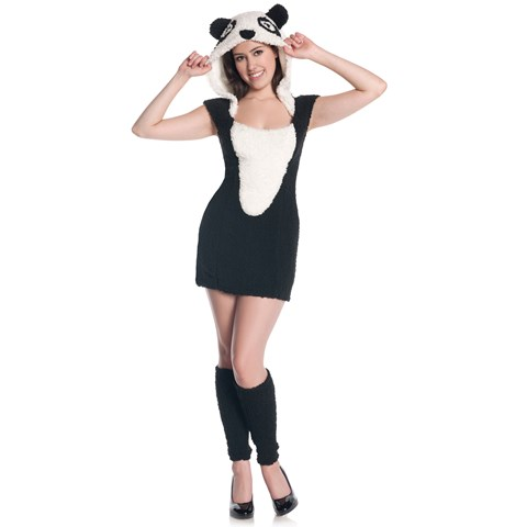 Panda Teen Costume