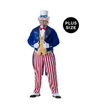 Uncle Sam Elite Collection Adult Plus Costume