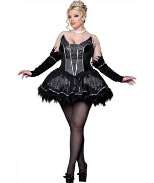 Seductive Swan Elite Collection Adult Plus Costume