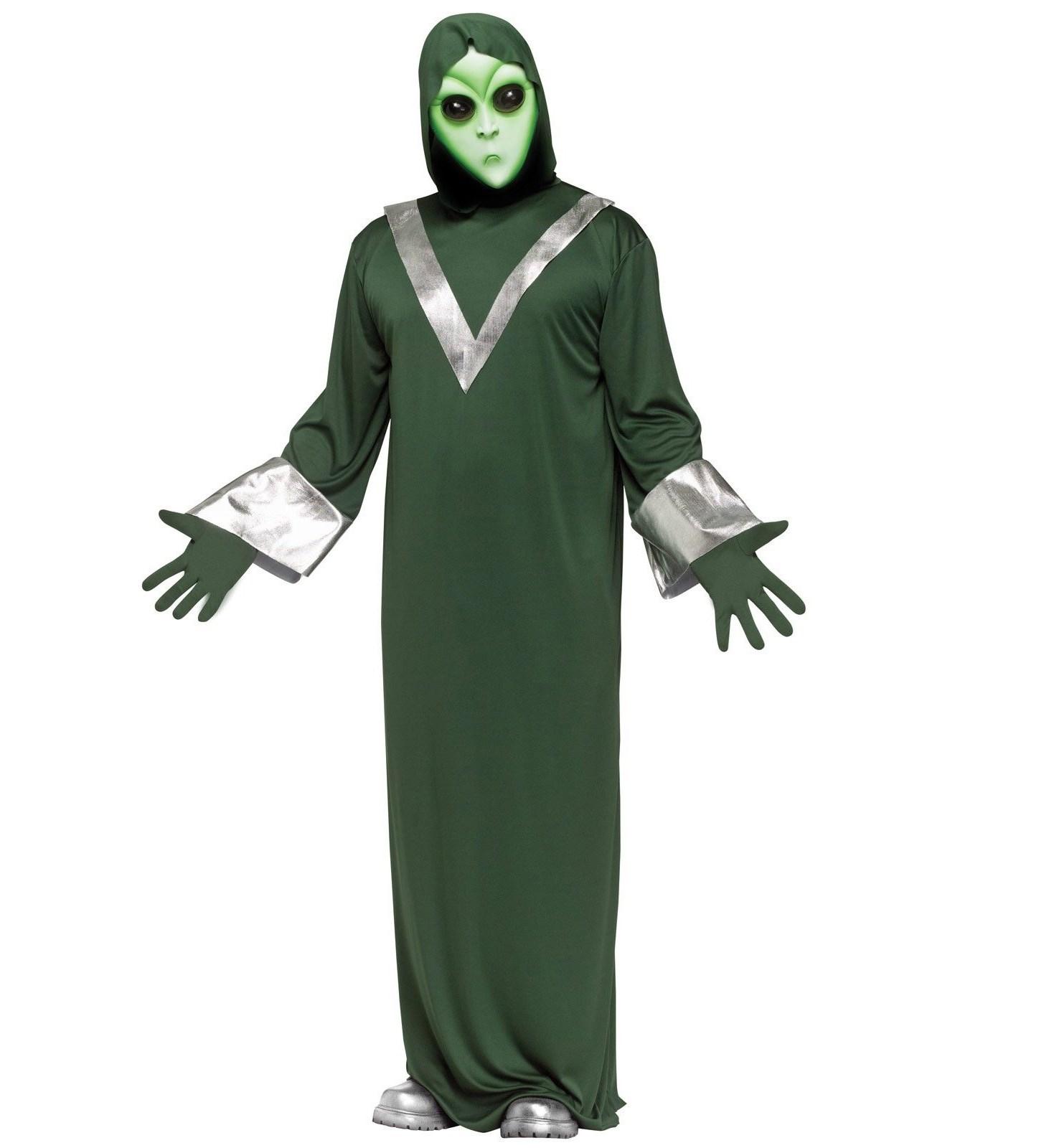 Image of Deep Space Alien Adult Costume