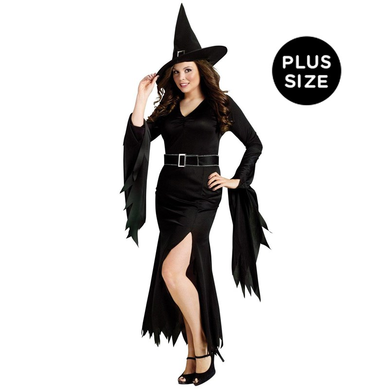 Gothic Witch Adult Plus Costume for the 2015 Costume season.