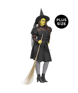 Ms. Wickd Adult Plus Costume