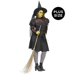 Ms. Wick'd Adult Plus Costume