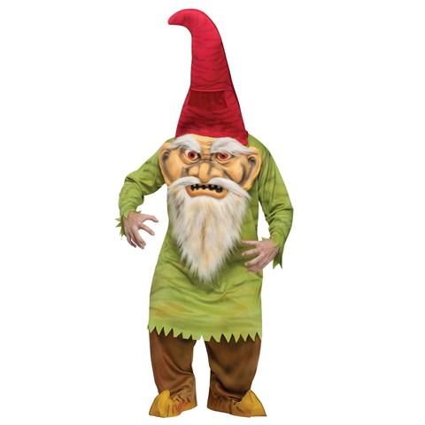 Big Head Evil Gnome Adult Costume
