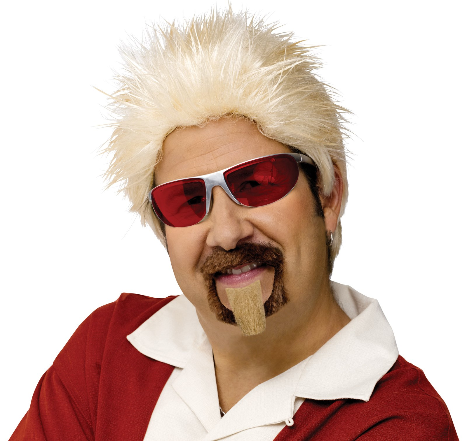 Celebrity Chef Wig and Goatee