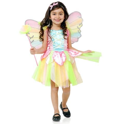 Rainbow Princess Fairy Toddler Costume