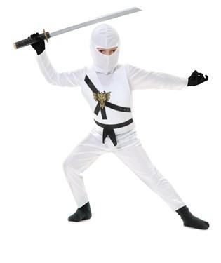 White Ninja Toddler Costume