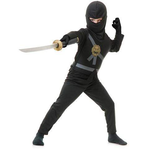 Black Ninja Toddler Costume