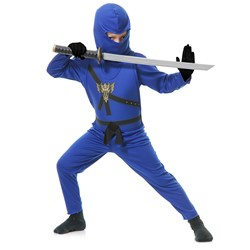 Blue Ninja Toddler Costume