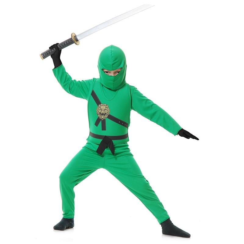 Green Ninja Child Costume for the 2014 Costume season.
