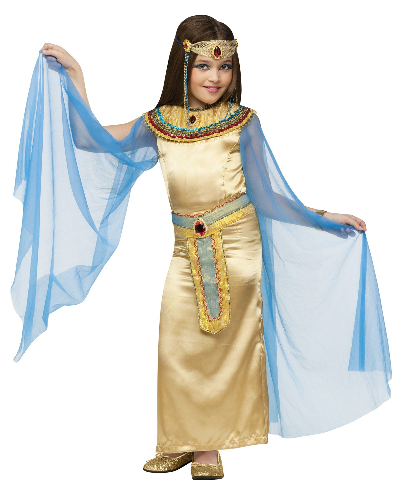 Image of Cleopatra Deluxe Child Costume