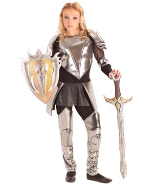Warrior Snow Child Costume