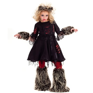 Howlette Werewolf Tween Costume