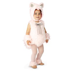 Pink Shaggy Kitty Infant / Toddler Costume