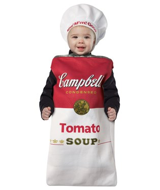 Campbells Tomato Soup Can Bunting Infant Costume