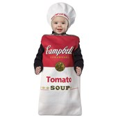 Campbell's Tomato Soup Can Bunting Infant Costume