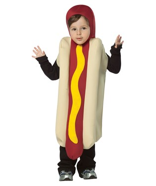 Hot Dog Toddler Costume