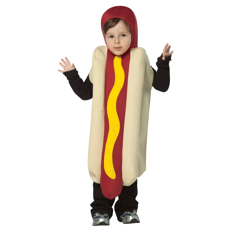 Hot Dog Toddler Costume for the 2015 Costume season.