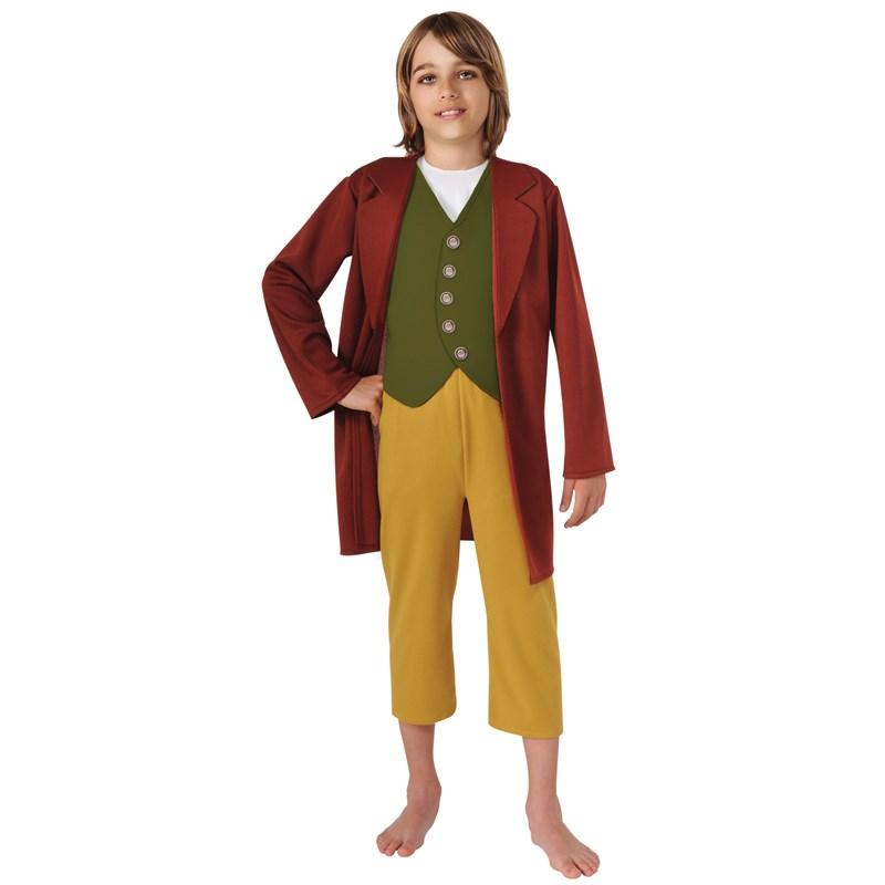 The Hobbit Bilbo Baggins Child Costume for the 2015 Costume season.