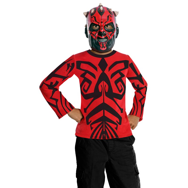 Star Wars Darth Maul Child Costume Kit for the 2015 Costume season.