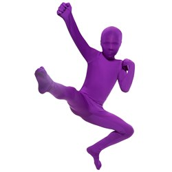 Purple Skin Suit Child Costume