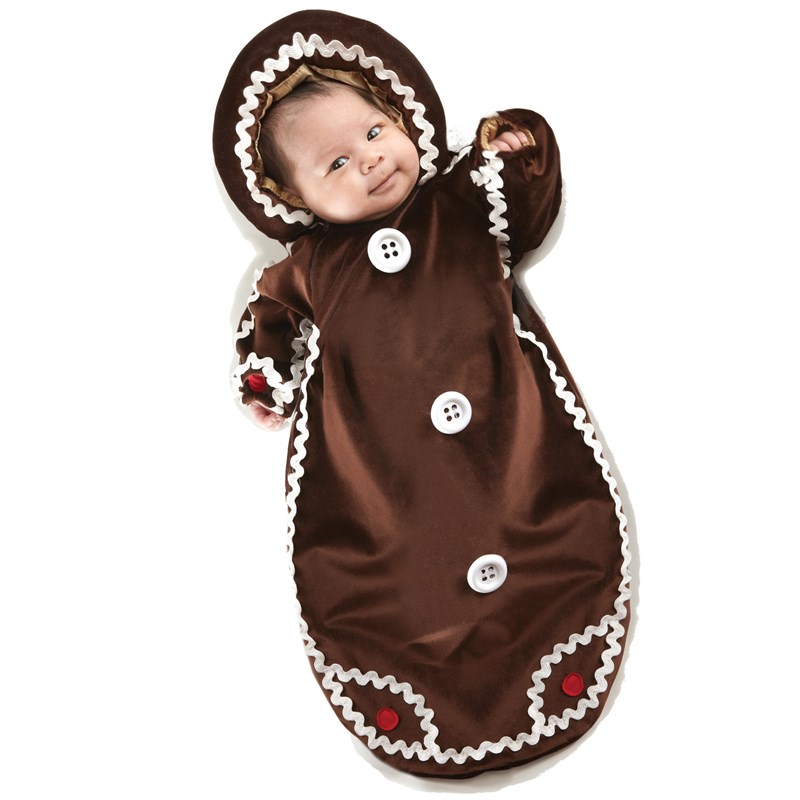 Gingerbread Bunting Infant Costume for the 2015 Costume season.