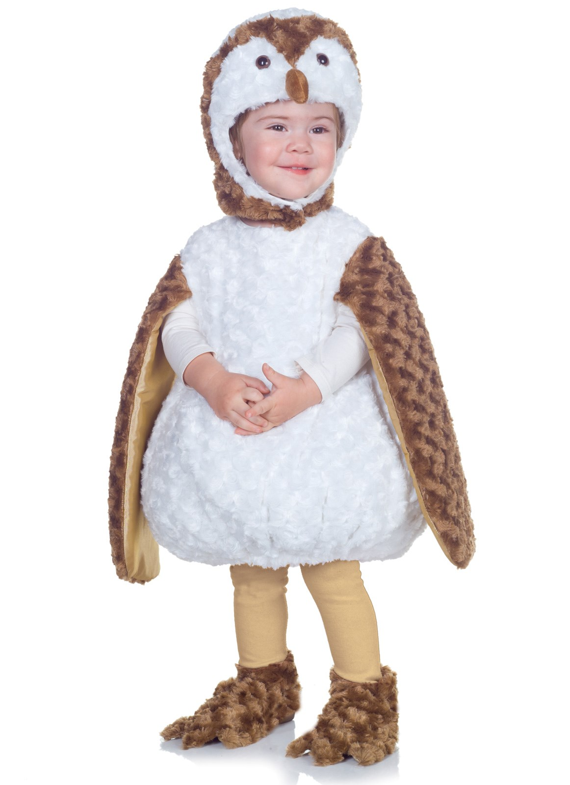 White Barn Owl Toddler Costume