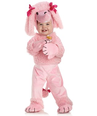 Pink Poodle Child Costume