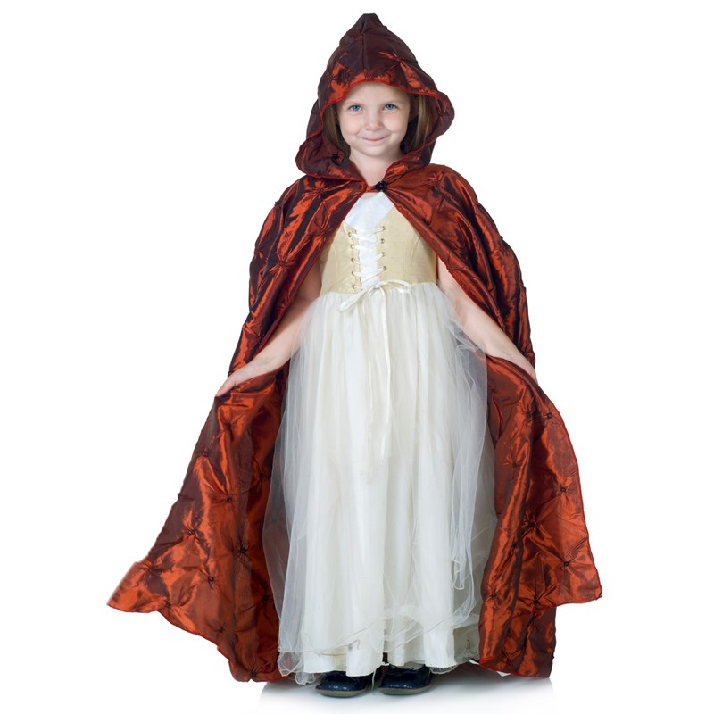 Red Pintuck Cape (Child) for the 2015 Costume season.