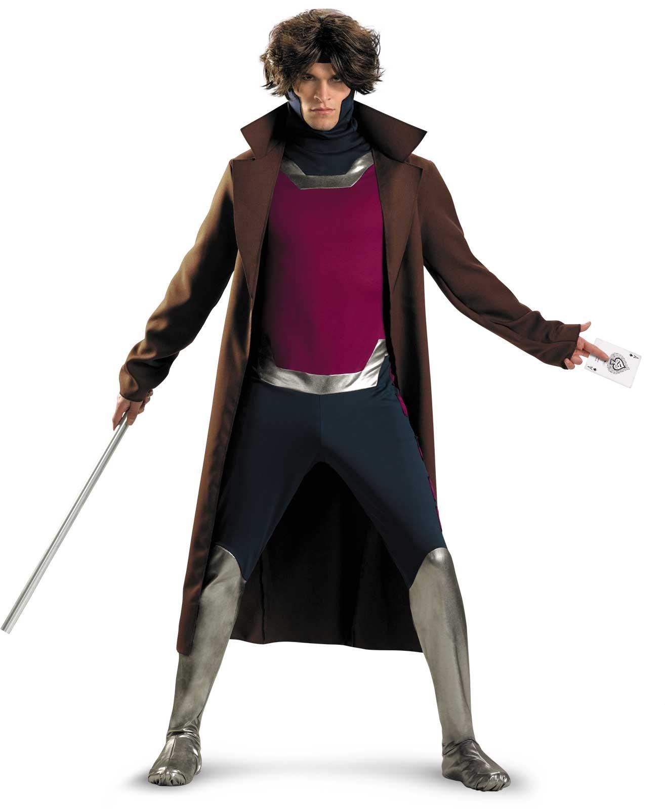 Image of X-Men Gambit Adult Costume