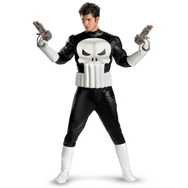 Punisher Adult Plus Costume