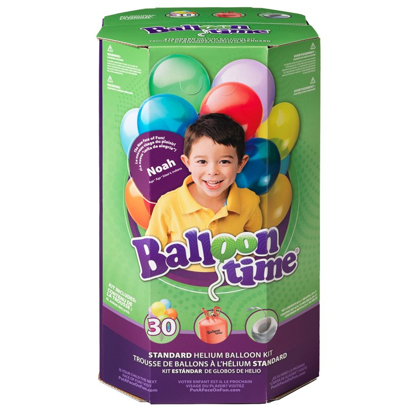 Standard Helium Balloon Kit for the 2015 Costume season.