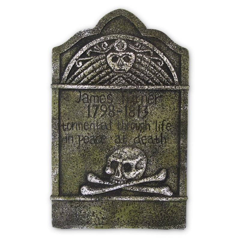 Skull and Crossbones Tombstone for the 2015 Costume season.