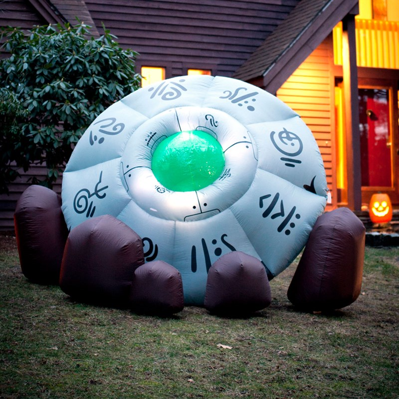 Inflatable Crashed UFO for the 2015 Costume season.
