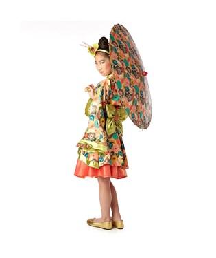 Jade Kimono Child Costume