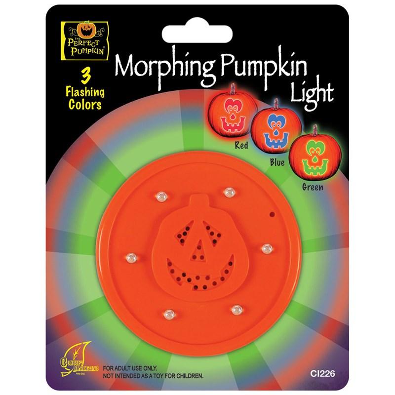 Morphing Pumpkin Light for the 2015 Costume season.