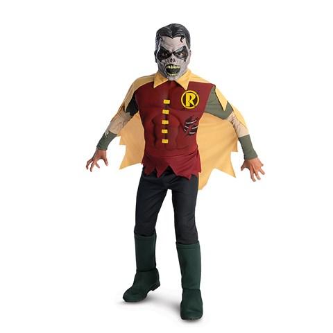 The Blackest Night Deluxe Zombie Robin Child Costume