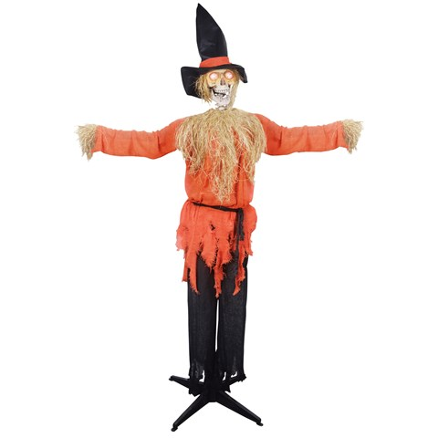 Standing Scarecrow Animated Prop