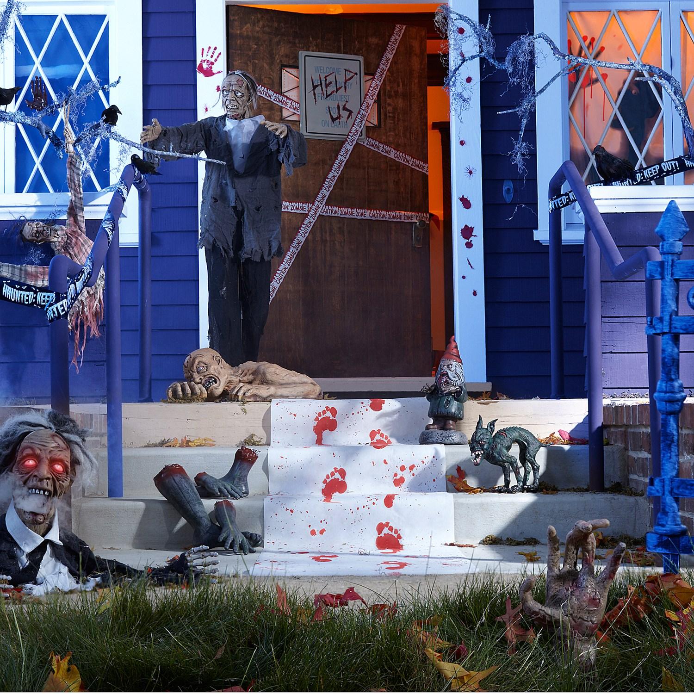 Zombie apocalypse halloween decorating tips for Halloween dance floor ideas