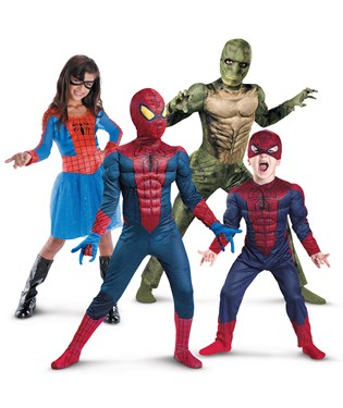 Spider-Man Group Costumes