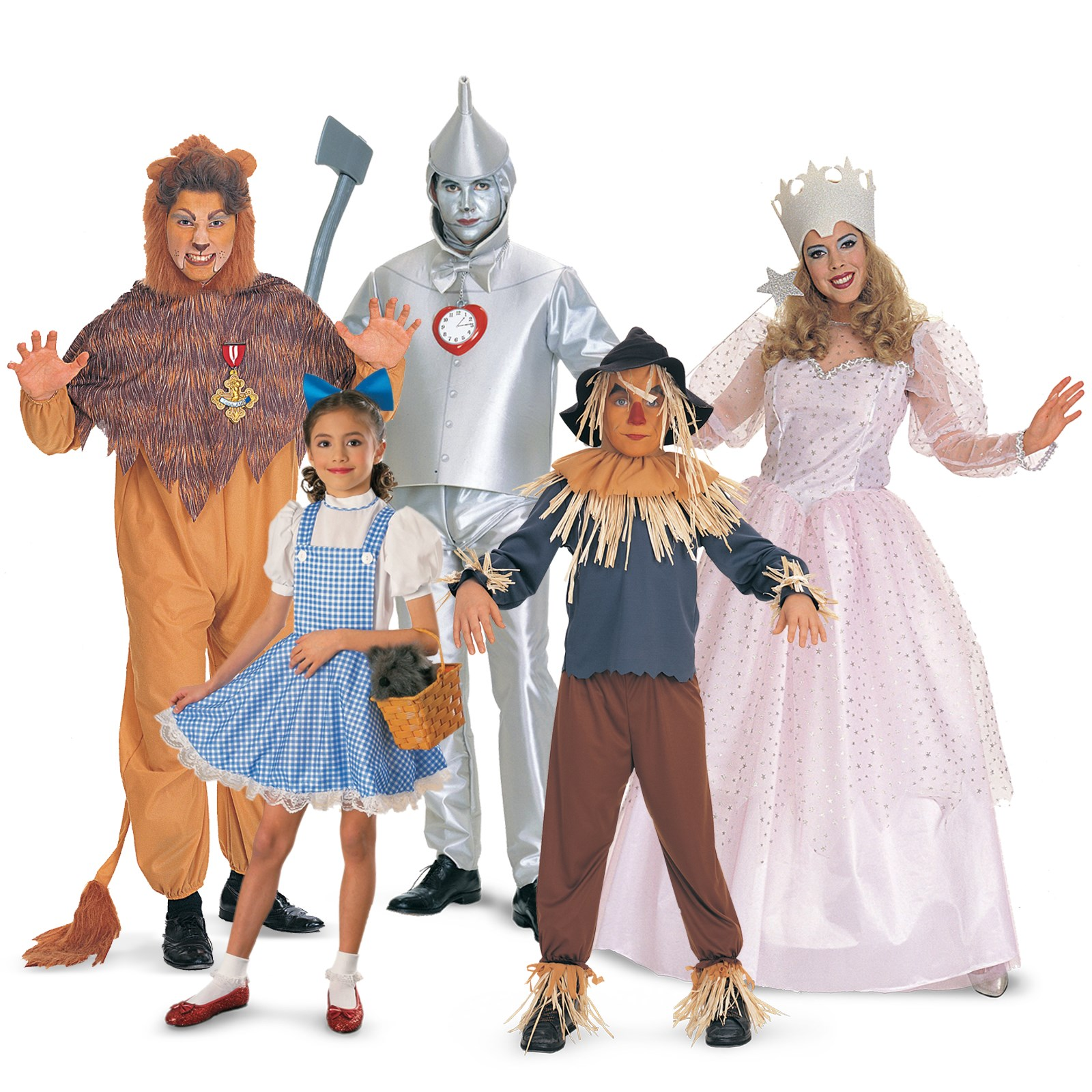 the wizard of oz group costumes. Black Bedroom Furniture Sets. Home Design Ideas