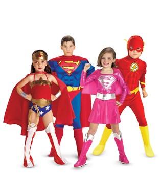 Superheroes Group Costumes
