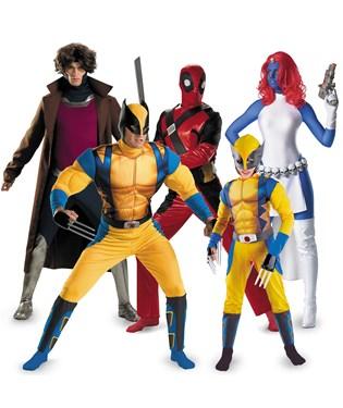 X-Men Group Costumes