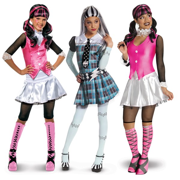 Monster High Costumes For Halloween