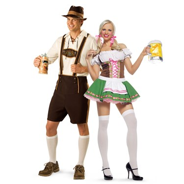 Your path home oktoberfest couples costumes