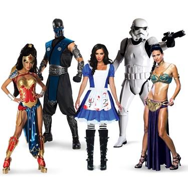 Comic Con Group Costumes