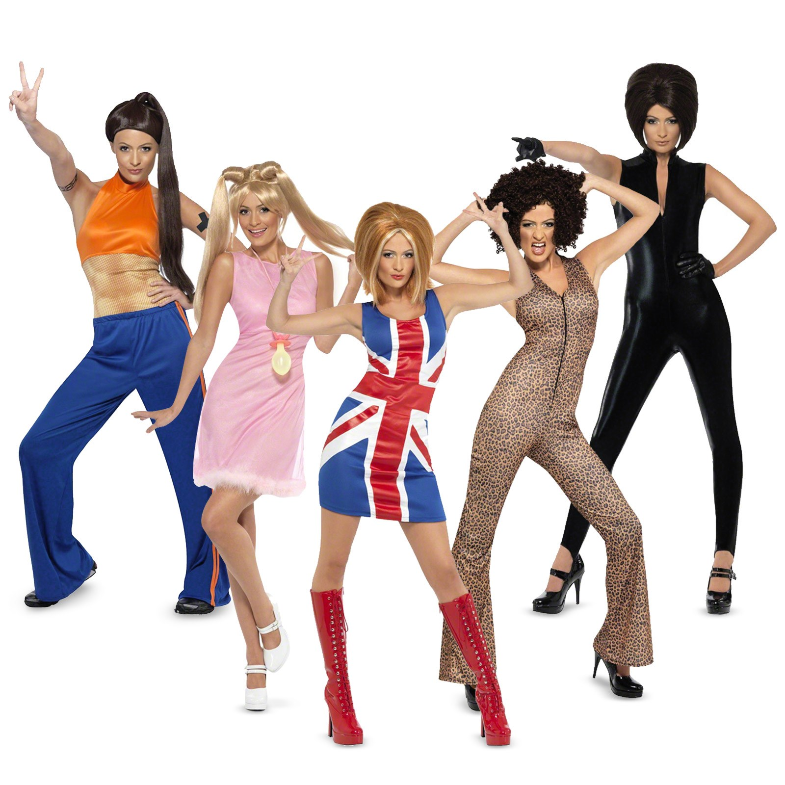 The spice girls group costumes for Best group pictures