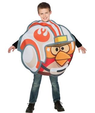 Rovio Angry Birds Fighter Pilot Luke Child Costume