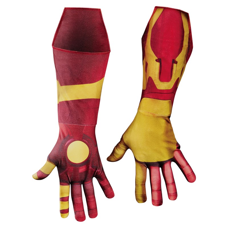 Iron Man 3 Mark 42 Deluxe Adult Gloves for the 2015 Costume season.
